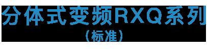 <i>SkyAir</i> RXQ标准系列