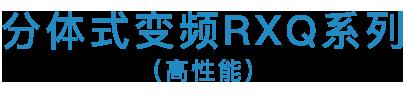 <i>SkyAir</i> RXQ高效系列