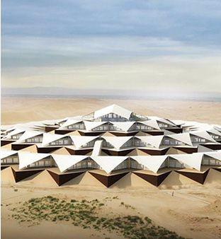 内蒙古沙漠莲花酒店