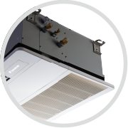 高耐久厨房用嵌入式厨房专用空调