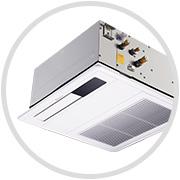 高耐久厨房嵌入式Air Mirror黑奢型厨房专用空调