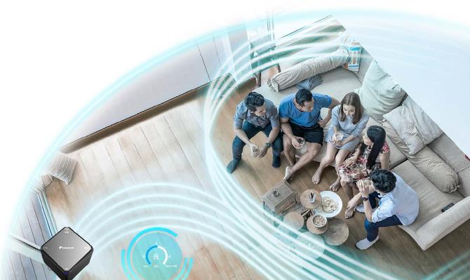 大金空调用空气创造答案,第七代家用中央空调全新上市!